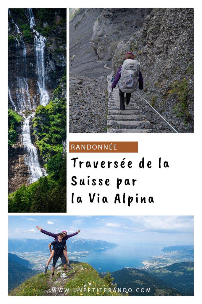Pinterest - Notre traversée de la Suisse par la Via Alpina