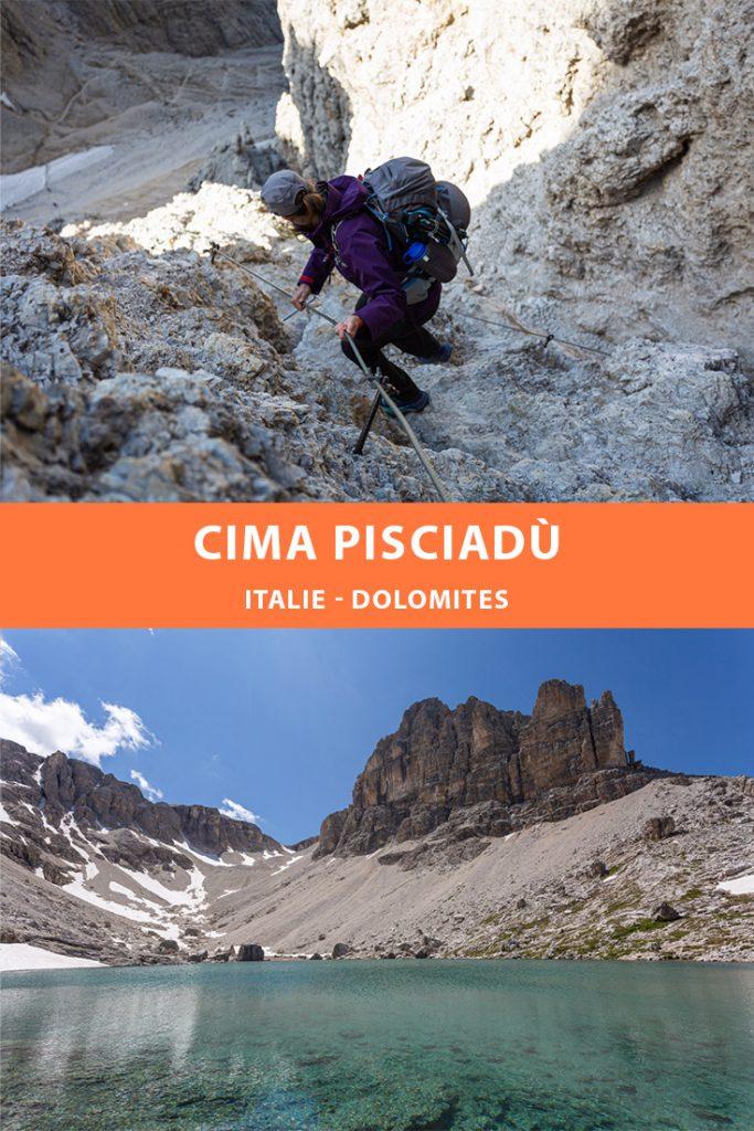 Pinterest - Dolomites - Randonnée à la Cima Pisciadù