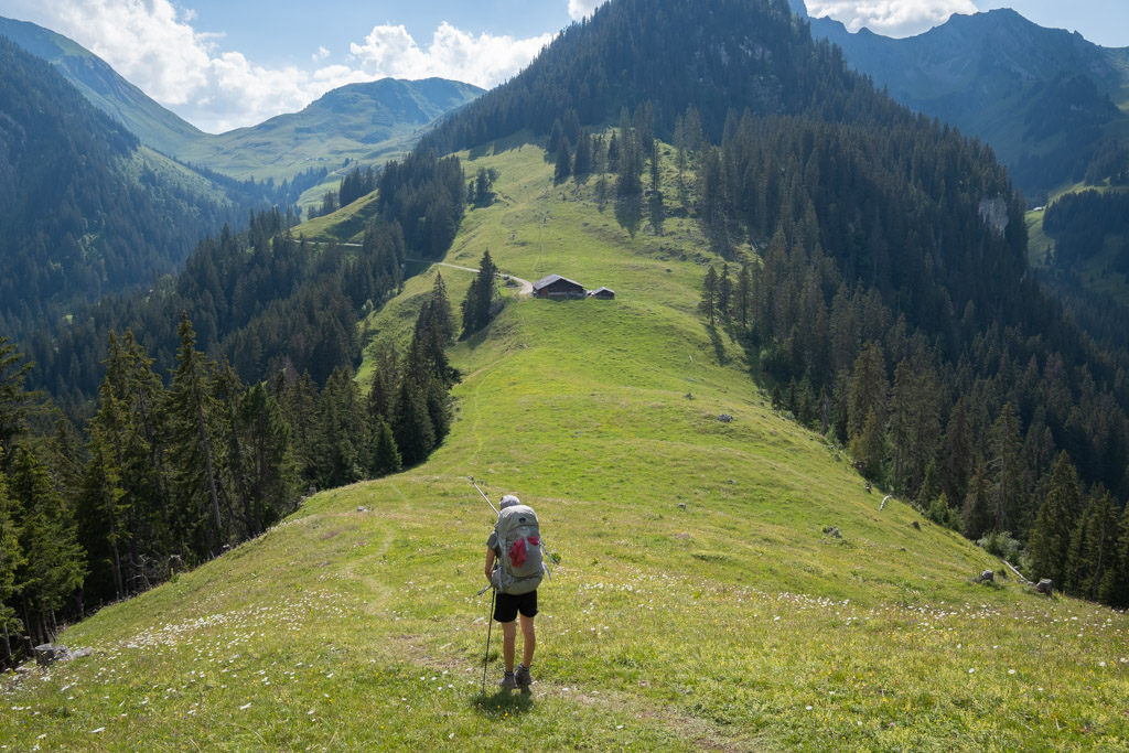 Via Alpina - A l'approche du Col de Jable
