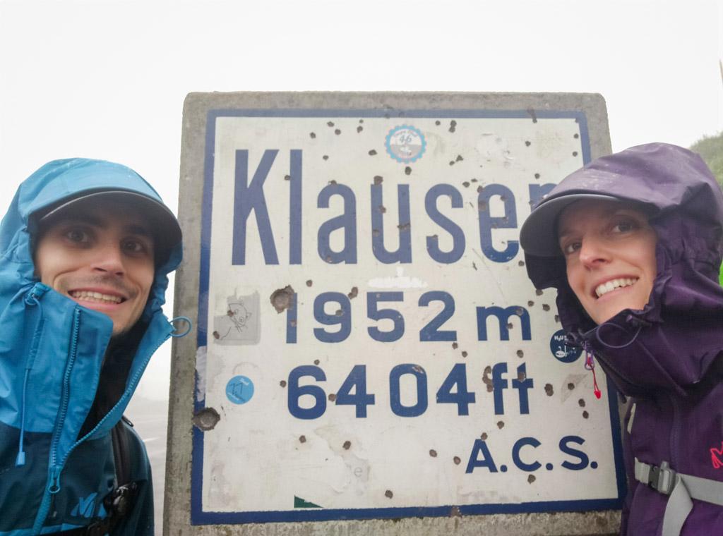 Via Alpina - Klausenpass