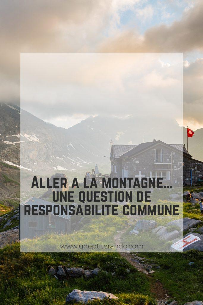 Pinterest - Aller à la montagne… une question de responsabilité commune